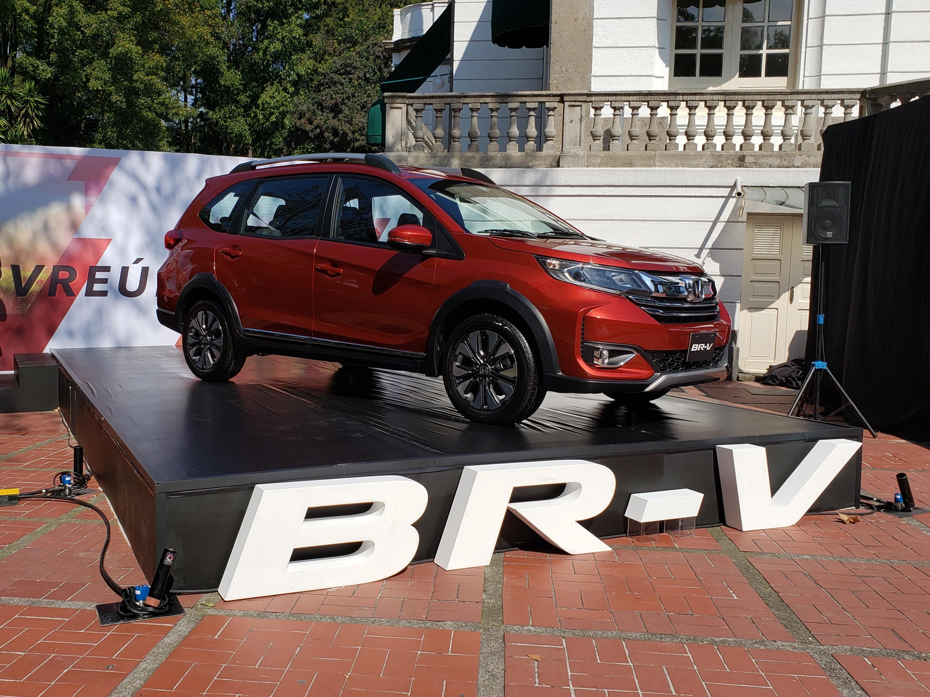 Honda BR-V 2020; espacio y practicidad con un rostro más fresco