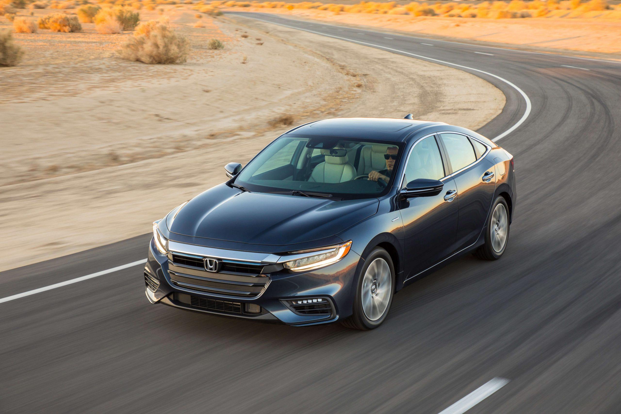 2021 Honda Insight Speed Test
